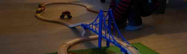Verjaardagsbuit: spoorbrug